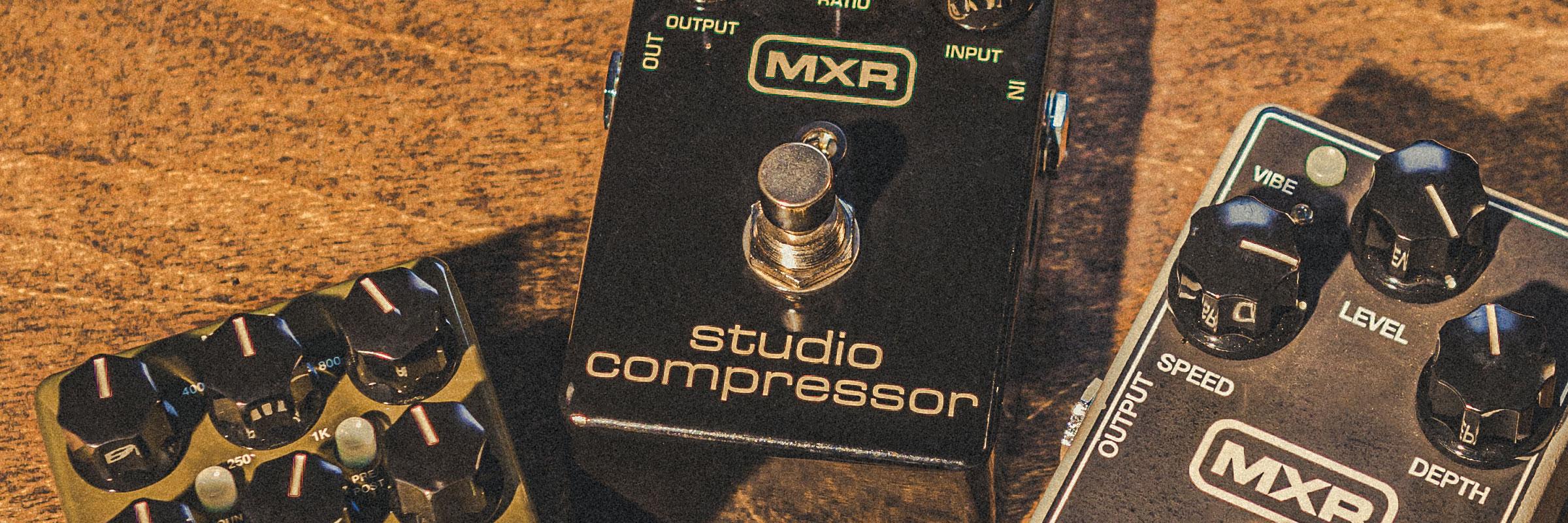 MXR<sup>®</sup> STUDIO COMPRESSOR